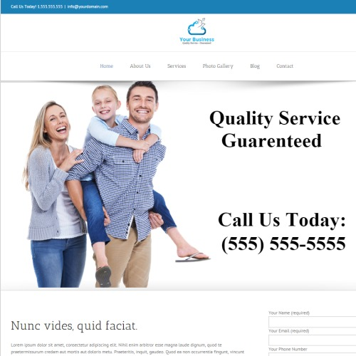 Professional website photo2 preview