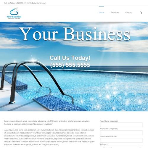 Swimming Pool Website Design portfolio_slider categoryweb number_of_items5 Affordable Website Design